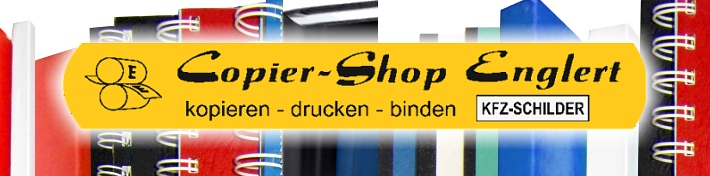 Copier-Center Englert W�rzburg - Kopien Druck - Bindearbeiten
